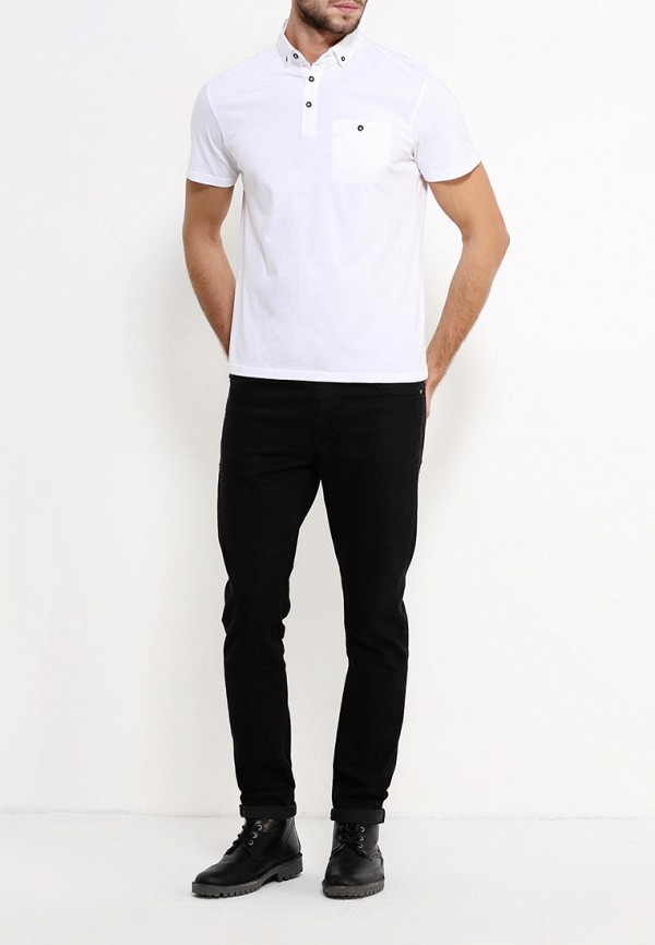 Мужские поло Burton Menswear London 45K11GWHT: изображение 2