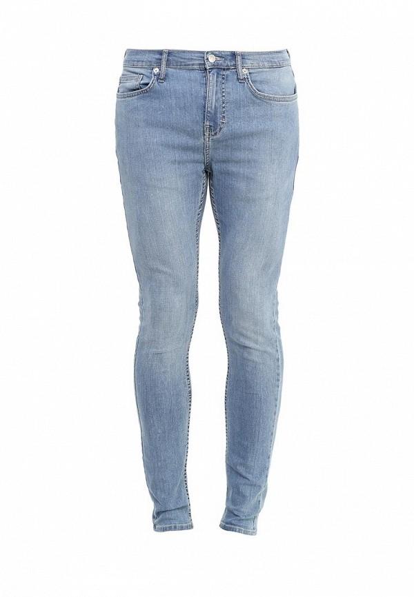 Зауженные джинсы Topman 69F15NLST