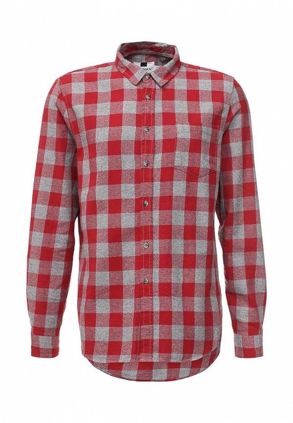 Рубашка с длинным рукавом Topman (Топмэн) 83C36MRED