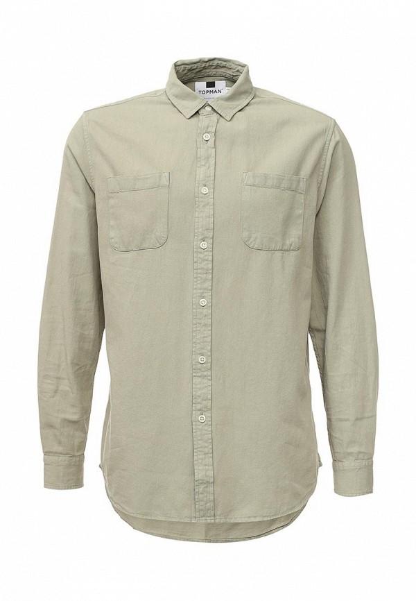 Рубашка с длинным рукавом Topman (Топмэн) 83D26MSTN