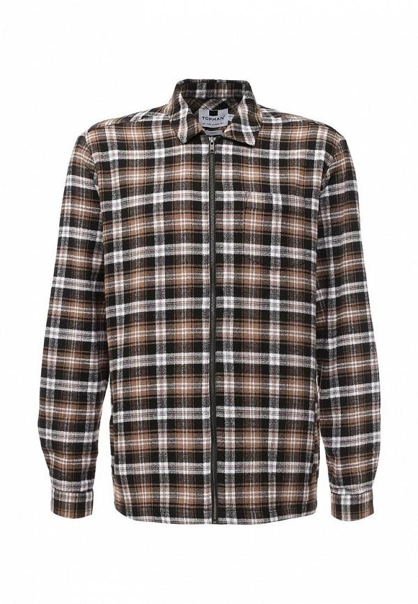 Рубашка с длинным рукавом Topman (Топмэн) 83O08MBRN