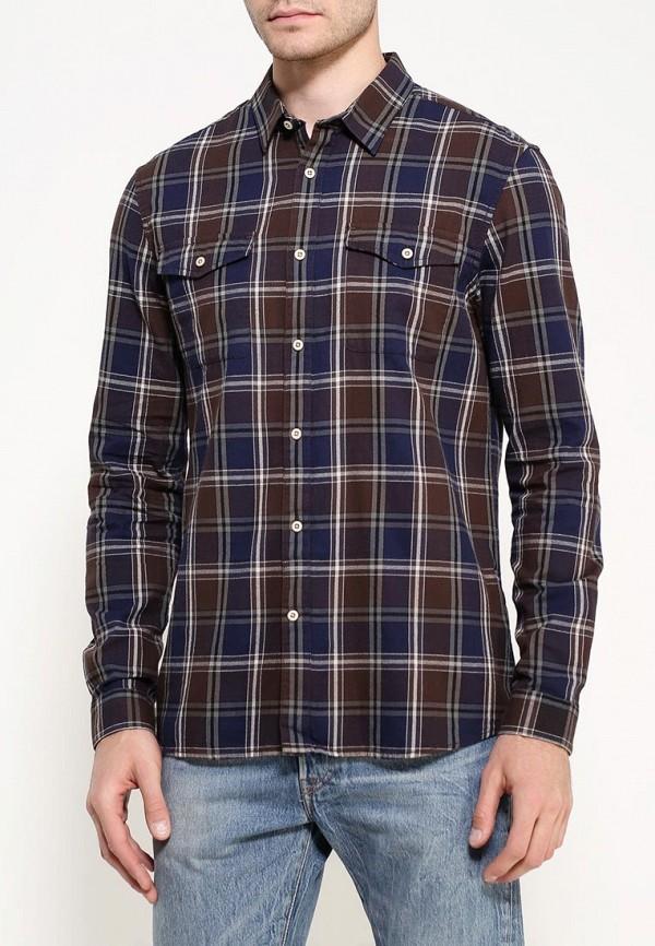 Рубашка с длинным рукавом Burton Menswear London 22C06JBLU: изображение 3
