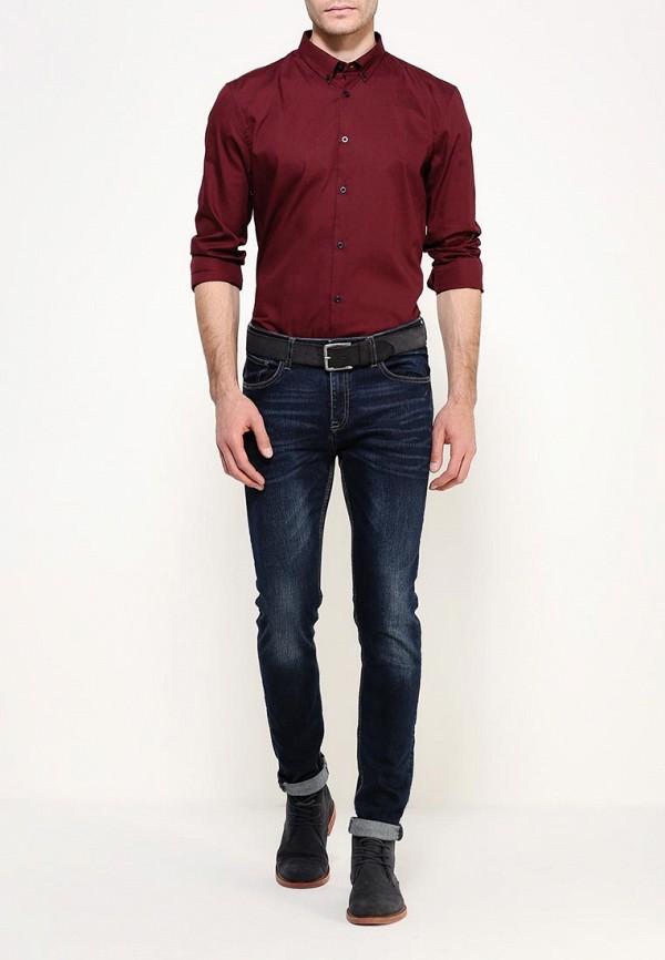 Рубашка с длинным рукавом Burton Menswear London 22D05JRED: изображение 2