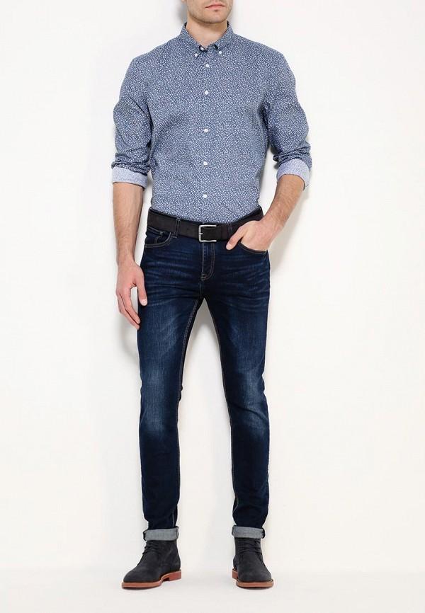 Рубашка с длинным рукавом Burton Menswear London 22D06JBLU: изображение 3