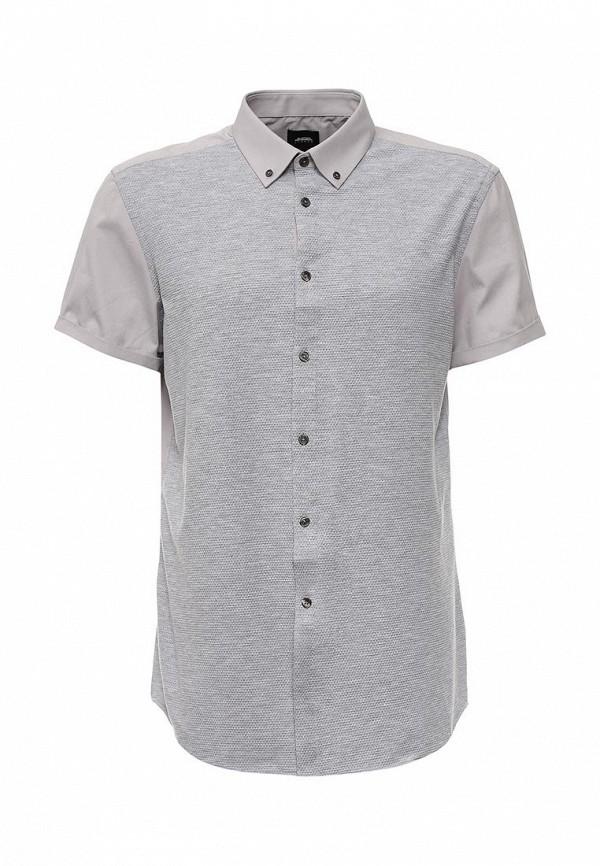 Рубашка с коротким рукавом Burton Menswear London 22J01JGRY: изображение 1