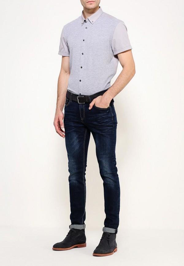 Рубашка с коротким рукавом Burton Menswear London 22J01JGRY: изображение 3