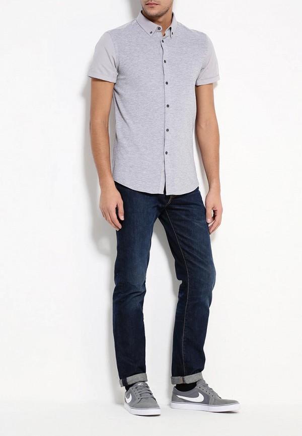 Рубашка с коротким рукавом Burton Menswear London 22J01JGRY: изображение 4