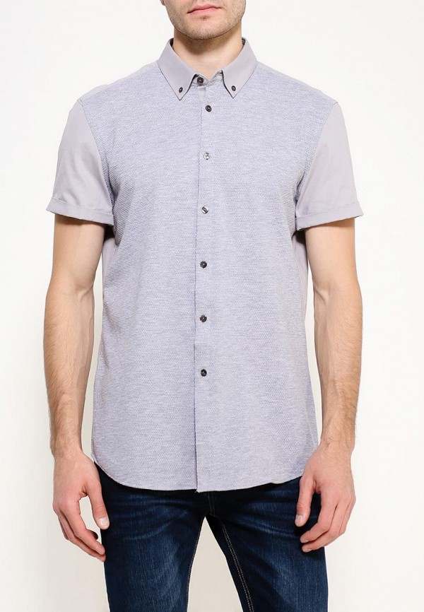 Рубашка с коротким рукавом Burton Menswear London 22J01JGRY: изображение 5