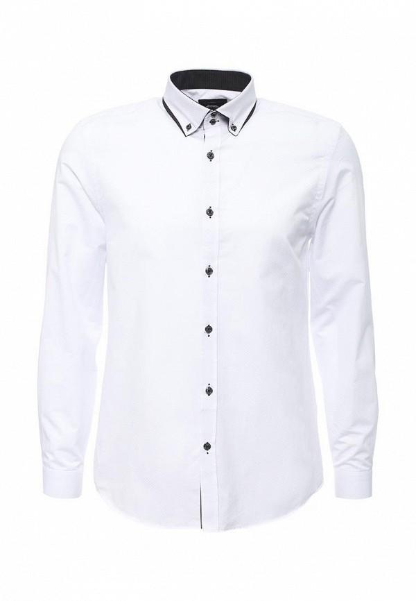 Купить мужскую рубашку Burton Menswear London белого цвета