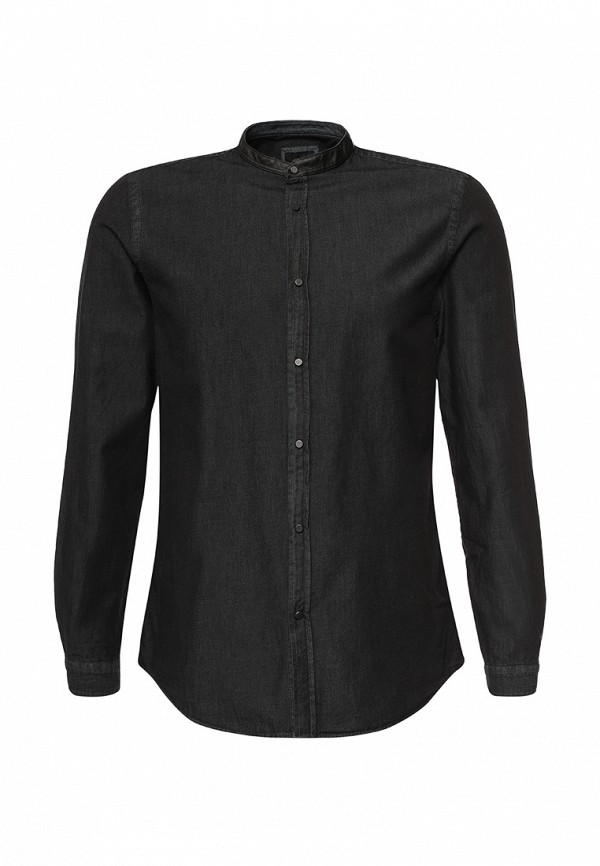 Рубашка с длинным рукавом Burton Menswear London 22D09JBLK