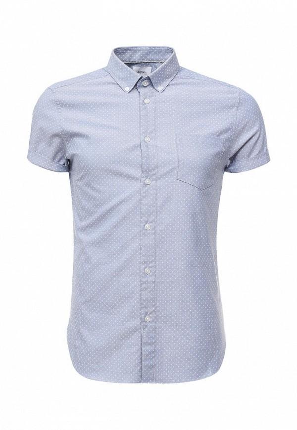 Рубашка с коротким рукавом Burton Menswear London 22O02KBLU