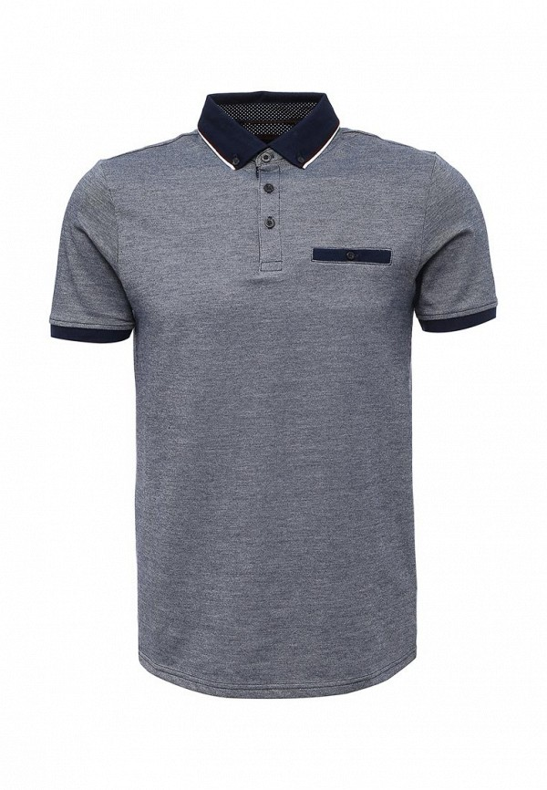 Поло Burton Menswear London Burton Menswear London BU014EWRMK51 acqua