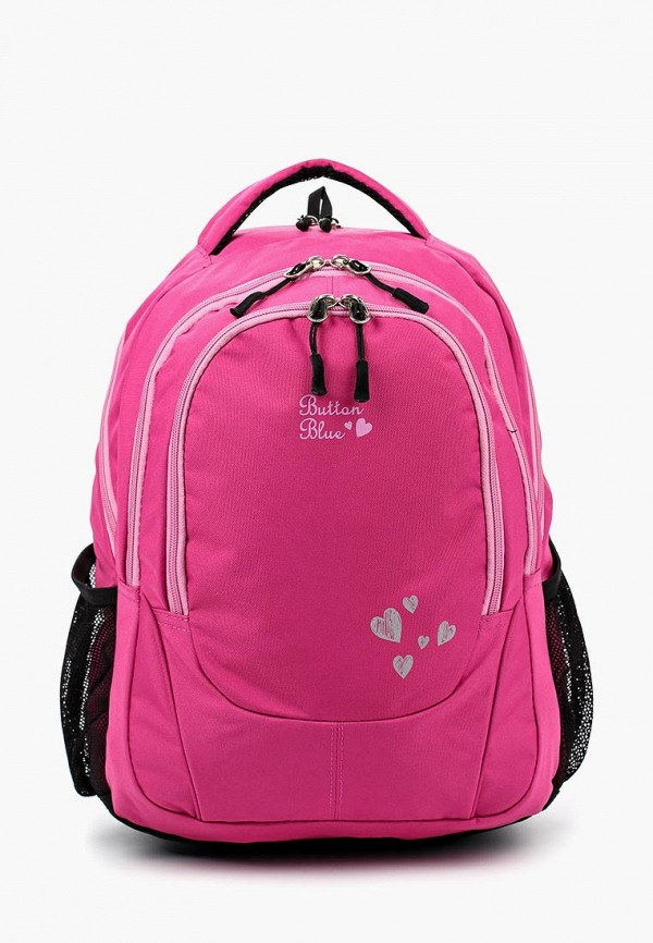 Купить Рюкзак Button Blue, BU019BGBQEP1, розовый, Осень-зима 2018/2019