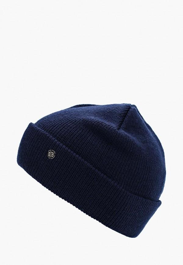 Купить Шапка Button Blue, BU019CGWUE34, синий, Осень-зима 2017/2018