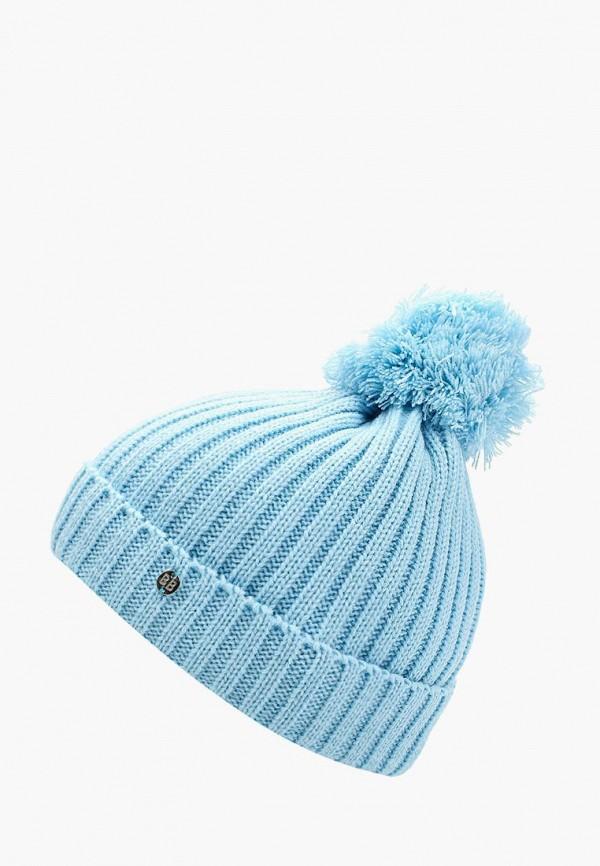 Купить Шапка Button Blue, BU019CGWUE38, голубой, Осень-зима 2017/2018
