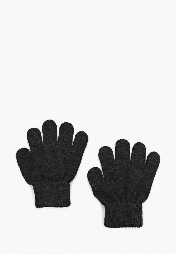 Купить Перчатки Button Blue, BU019DKWUE67, черный, Осень-зима 2017/2018