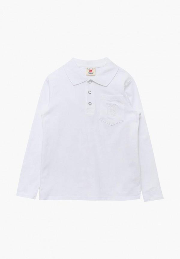 Купить Поло Button Blue, BU019EBBQEP3, белый, Осень-зима 2018/2019