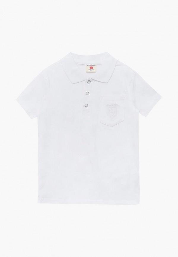 Купить Поло Button Blue, BU019EBBQEP5, белый, Осень-зима 2018/2019