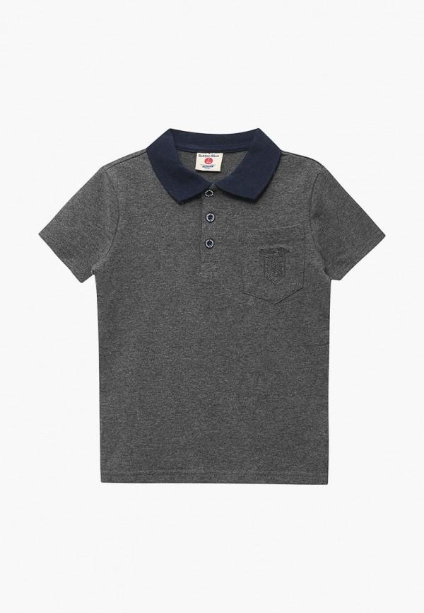 Купить Поло Button Blue, BU019EBBQEP6, серый, Осень-зима 2018/2019