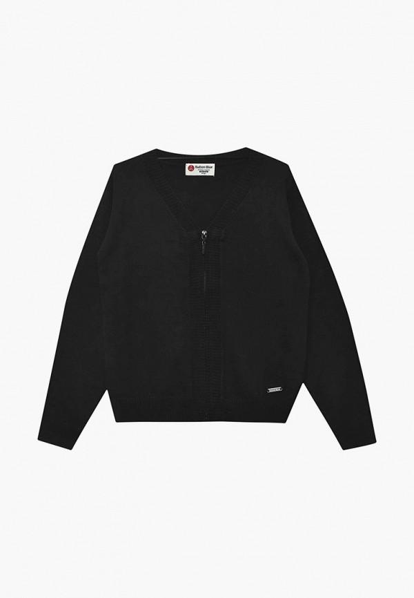 Купить Кардиган Button Blue, BU019EBBQER2, черный, Осень-зима 2018/2019