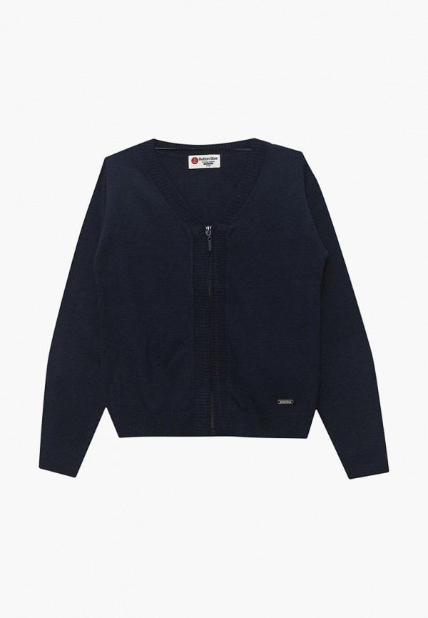Купить Кардиган Button Blue, BU019EBBQER3, синий, Осень-зима 2018/2019