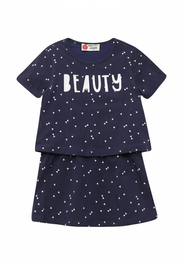 Фото Платье Button Blue. Купить с доставкой