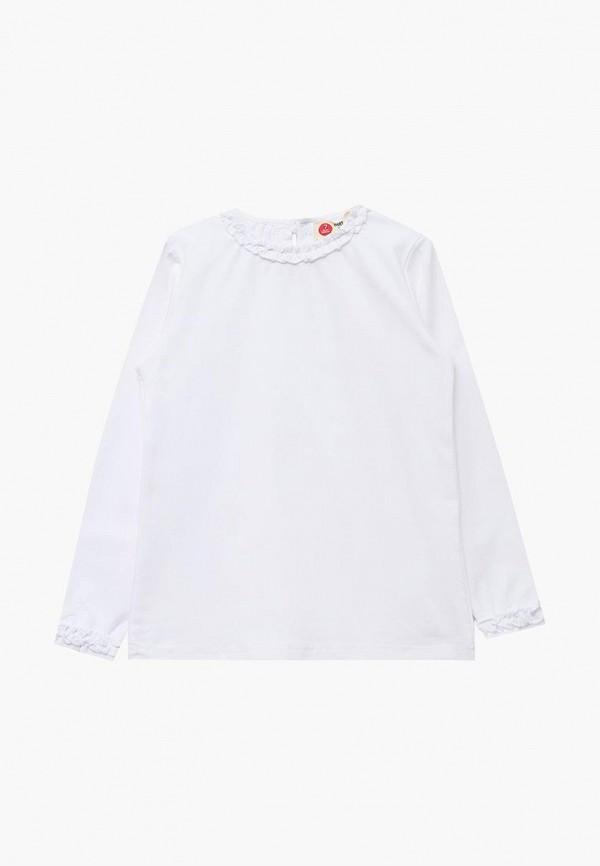 Купить Лонгслив Button Blue, BU019EGBQES3, белый, Осень-зима 2018/2019