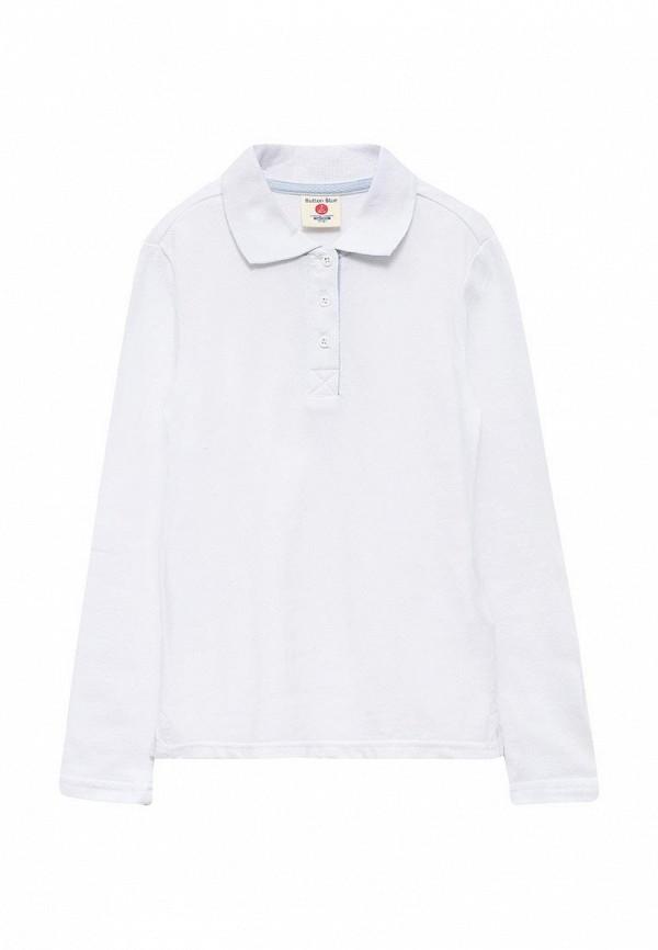 Купить Поло Button Blue, BU019EGUBC26, белый, Осень-зима 2017/2018