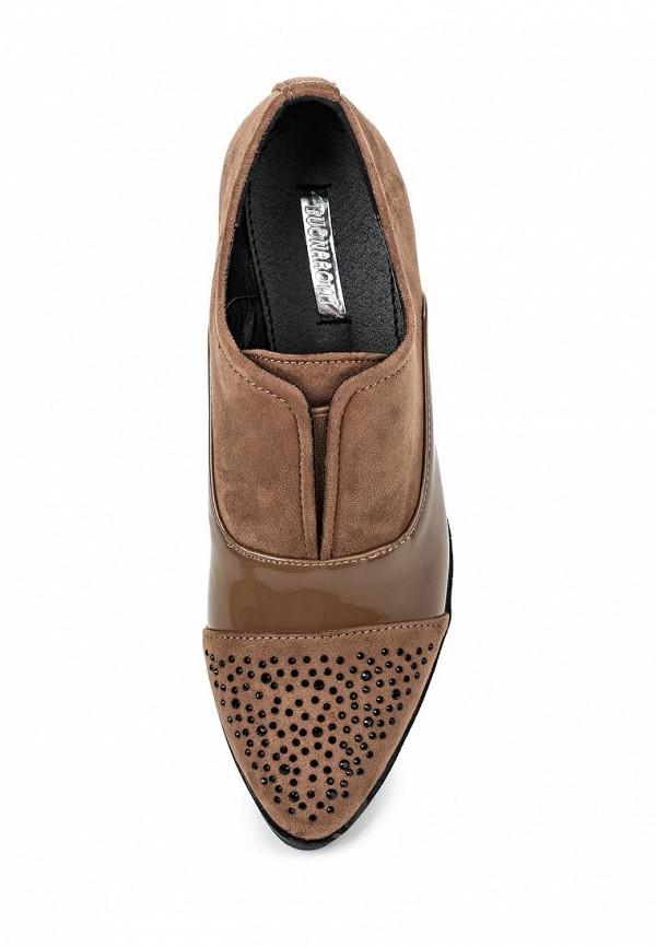 Туфли на плоской подошве Buonarotti AD-10429: изображение 4