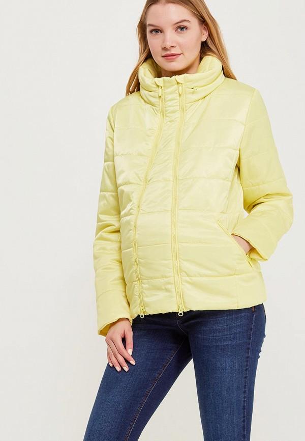 Куртка утепленная Budumamoy, BU022EWAPKL2, желтый, Весна-лето 2018  - купить со скидкой