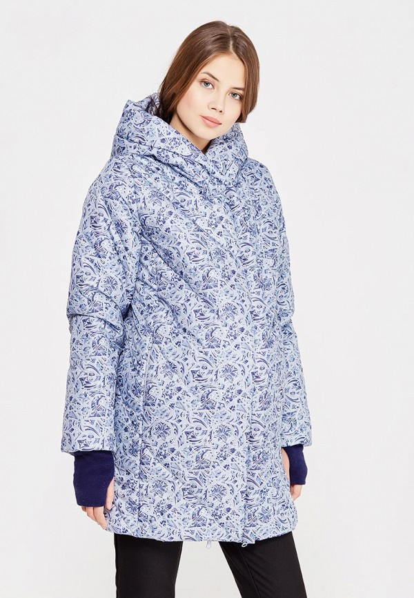 Купить Куртка утепленная Budumamoy, BU022EWWWB15, голубой, Осень-зима 2017/2018