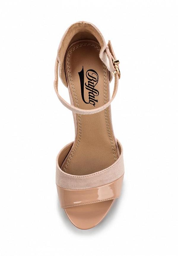 Босоножки на каблуке Buffalo London 312339: изображение 4