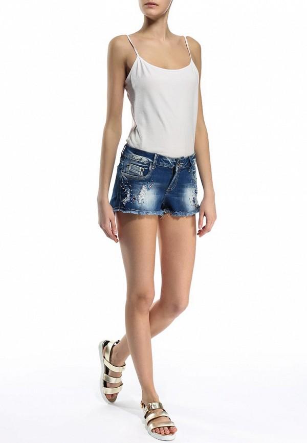 Женские джинсовые шорты By Swan U7003: изображение 3