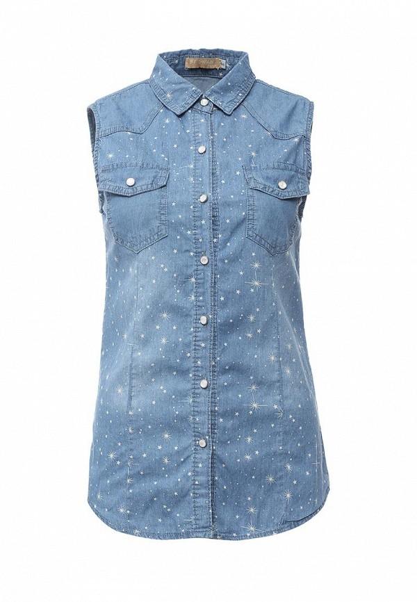 Рубашка джинсовая By Swan L632
