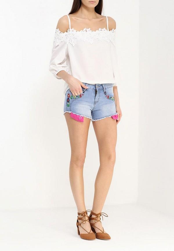 Женские джинсовые шорты By Swan 5127: изображение 6