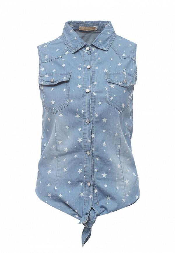 Рубашка джинсовая By Swan By Swan BY004EWRPM93  цена и фото