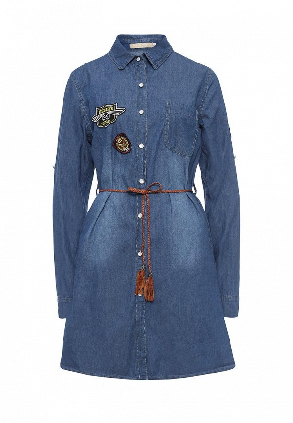 все цены на  Платье джинсовое By Swan By Swan BY004EWRPN03  онлайн