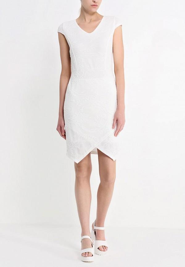 Платье-миди b.young 803108: изображение 3