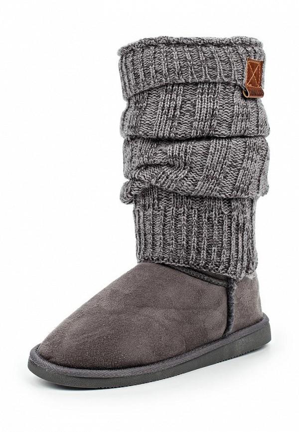 Купить Сапоги Canadians серого цвета