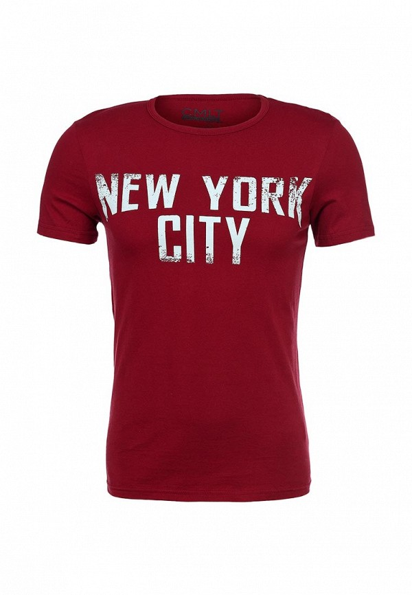 Футболка с надписями Camelot (Камелот) NYC-SS14: изображение 1