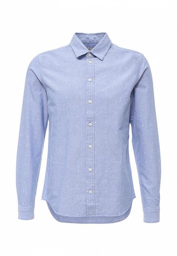 Купить мужскую рубашку Casual Friday by Blend голубого цвета