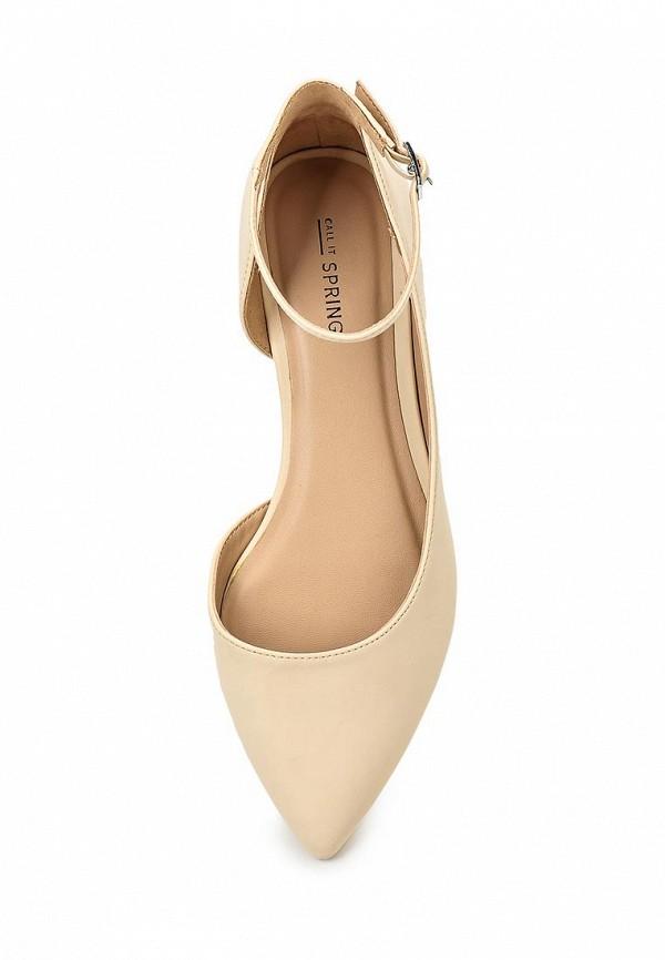 Фото 4 - женские туфли Call It Spring бежевого цвета