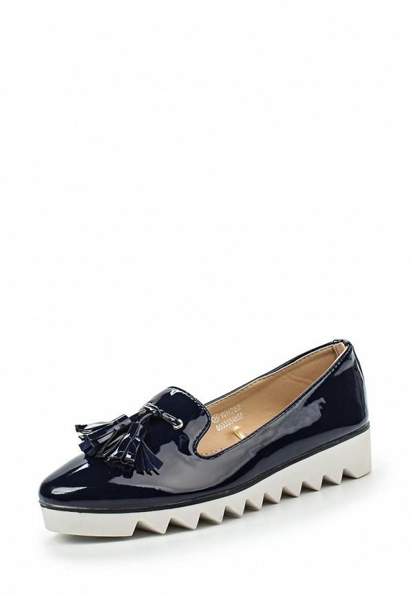 Туфли на плоской подошве Catisa WH760
