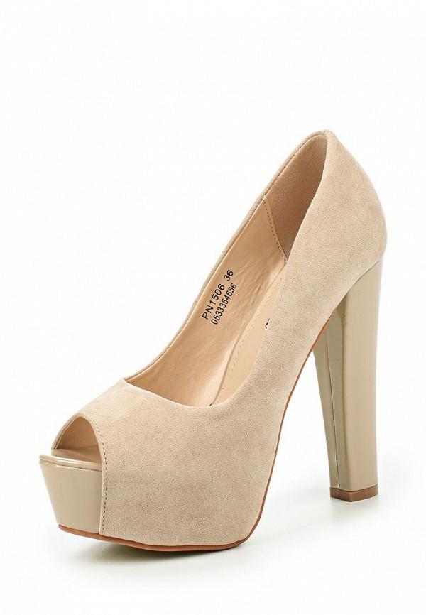 Туфли на каблуке Catisa PN1506