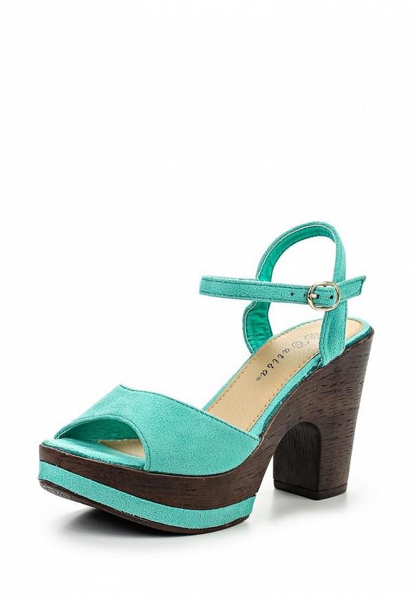 Босоножки на каблуке Catisa PN1529