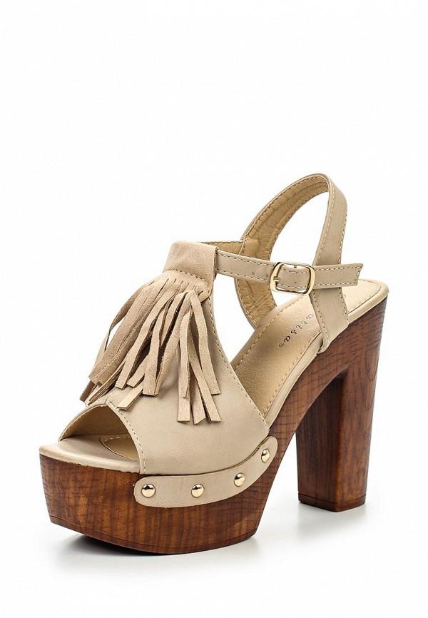 Босоножки на каблуке Catisa PN1534