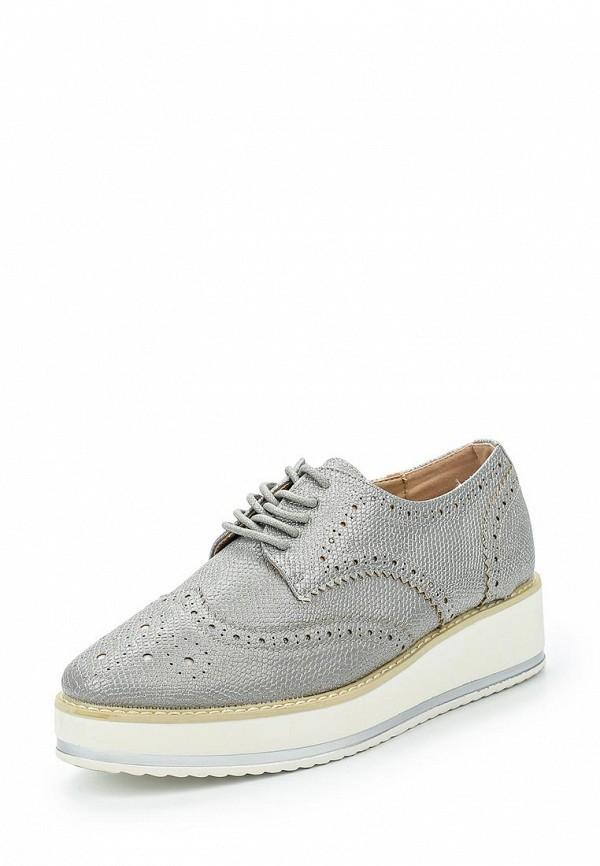 Фото - женские ботинки и полуботинки Catisa серебрянного цвета