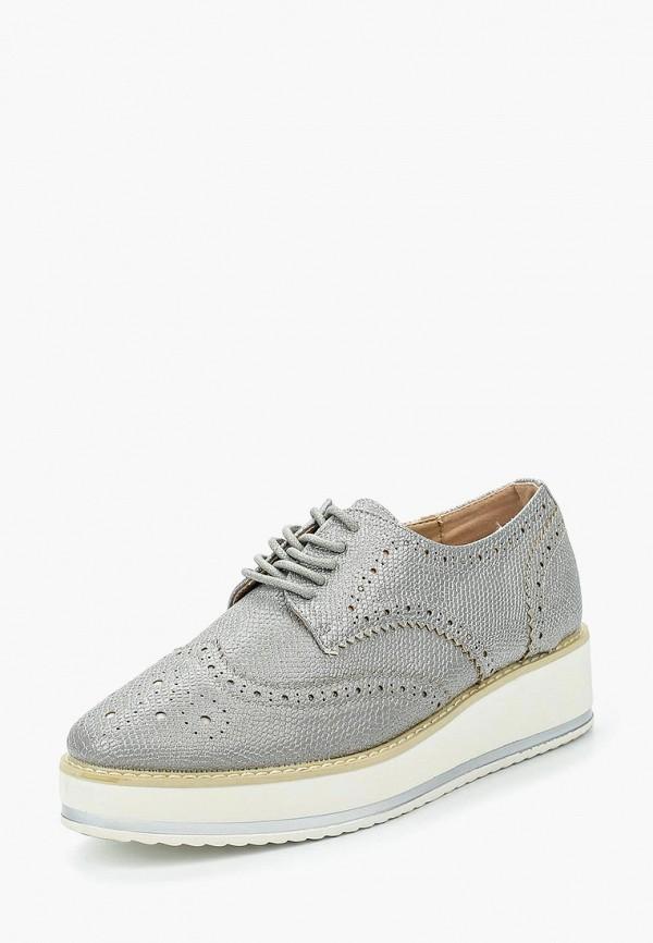 Фото 6 - женские ботинки и полуботинки Catisa серебрянного цвета