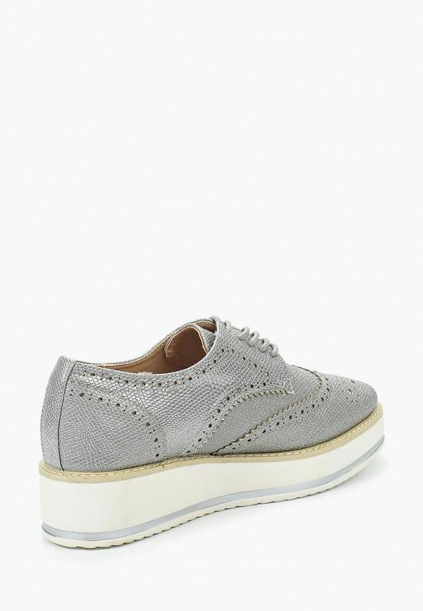 Фото 7 - женские ботинки и полуботинки Catisa серебрянного цвета