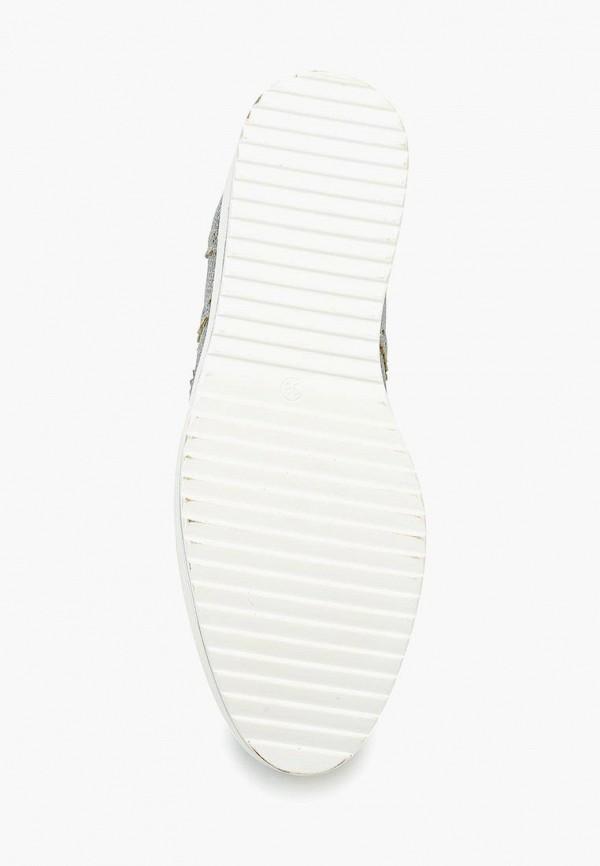 Фото 8 - женские ботинки и полуботинки Catisa серебрянного цвета
